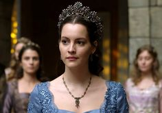 Ayse sultan's blue dress w/lace, 2x06 - Magnificent Wardrobe