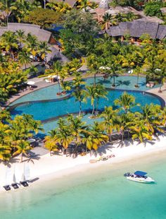 The Trou aux Biches Resort & Spa is nestled along the most beautiful beach in Mauritius. Sheltered from the trade winds and facing the sunset, the resort provides an ideal setting for families and honeymooners