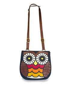This Red & Yellow Owl Crossbody Bag by Loungefly is perfect! #zulilyfinds