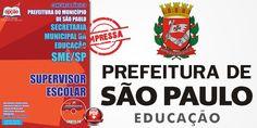 Promoção -  Apostila SME SP - Supervisor Escolar em PDF e Impressa  #concursos