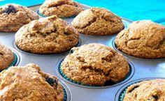 Banaani mustikka täysjyvä muffinit