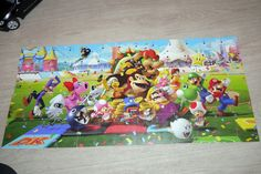Mario Party Playing cards