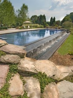 Waterfall Pools Design, Pictures, Remodel, Decor and Ideas