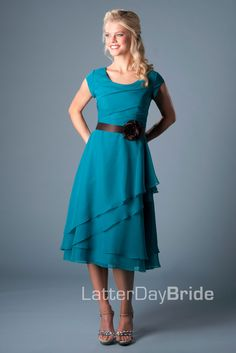 Bridesmaid & Prom, Presley | LatterDayBride & Prom Modest Mormon LDS Bridesmaid Dress