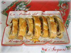 Rotolo in crosta di pane