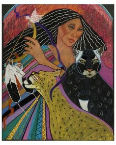 Cat Woman From Palenque ~ Pamela Mccabe