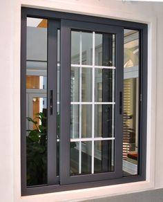 ✓ Minimalist Window Design Ideas for Your House [Images] House Window Design, Window Grill Design, Door Design, Exterior Design, Interior And Exterior, House Design, Minimalist Window, Minimalist Home, Modern Window Grill