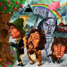 Wish You Were Here, with Pink Floyd to Oz Land