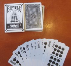 Bicycle makes domino cards!!