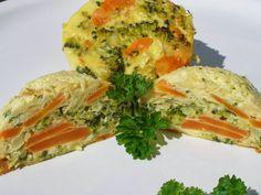 V kuchyni vždy otevřeno ...: Bábovičky z mrkve a brokolice