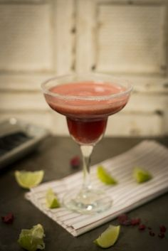 Raspberry and Lime Delight