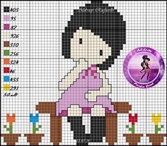 AMIGAS DE LAS GORJUSS: GRAFICOS IMANES Cross Stitch House, Mini Cross Stitch, Cross Stitch Charts, Cross Stitch Designs, Learn Embroidery, Embroidery Stitches, Stitch Doll, Stitch Cartoon, Kawaii Crafts