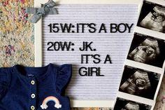 Gender Reveal 15 Weeks  Gender Reveal 20 Weeks  Finding out baby�s gender was wrong!