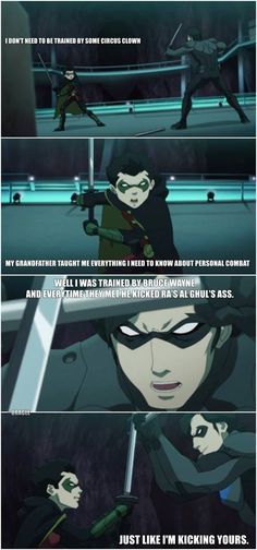 :) nightwing is the best
