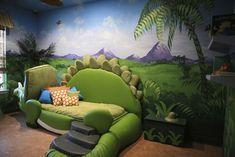 Decoracion dormitorio infantil tematica dinosaurio 4