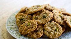 Pistachio White Chocolate Chip Cookies