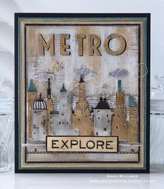 That's Life: Creativation 2017: Sizzix Samples Part 2 ~ Metro