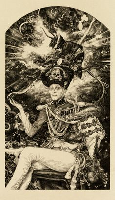 """""""Will"""" by Vania Zouravliov 9.5″ x 16.5″ Giclee... this is really eery looking print. Very nice!"""