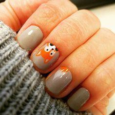 These are so cute!  Loving my pretty nails. #whatdoesthefoxsay #fauxfoxjn #glacierjn #trushinejn #jamberry #jamberrynails