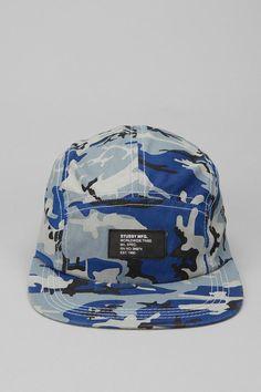 Stussy Chambray Camo 5-Panel Hat