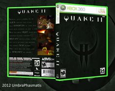 Quake II, Xbox 360 (fan cover)