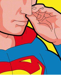 The Secret Life of Heroes - A Vida Secreta dos Heróis #SuperMan