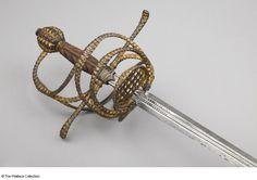 Rapier Andrea Ferara (*1530) Hilt- possibly Germany; blade- possibly Italy…