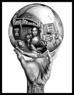 0531 [SlimyYetSatisfying] Escher meets Mona