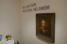 Industrial Melanism | Neil Grayson | Debut Solo Exhibition Opening Night (Photo Recap) | Quiet Lunch.