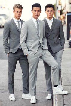 Strellson ss14 Menswear casual business style / Laurin Krausz / Dae Na / Eli Hall