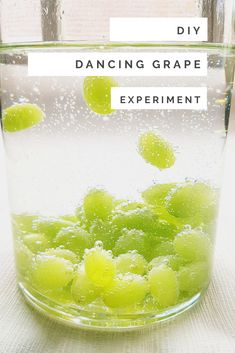 Do your kids love stem experiments too? In my post, I show you how easy this dancing grape experiment is. Click through now and learn the science behind it! #steam #experiment #kids #liltigers
