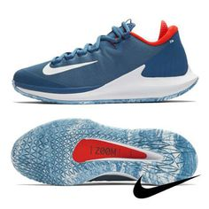 on sale f3d2d 94157 Nike Air Zoom Zero HC Women s Tennis Shoes Blue Racquet Hard Court  AO5023-400