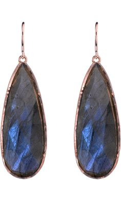 labradorite teardrop earrings irene neuwirth f.w2012 barneys