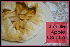 kitchen counter chronicles: Around the World in 12 Dishes - Apple Galette