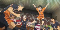 tanaka's face. Tanaka Haikyuu, Nishinoya Yuu, Haikyuu Meme, Haikyuu Karasuno, Kageyama, Hinata, Watch Haikyuu, Volleyball Clubs, Baby Crows