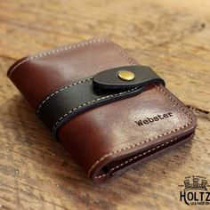 Snap Closure Wallet