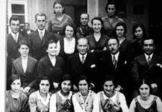24 Haziran 1933 Ankara Atatürk Kız Lisesi öğrencileri ile