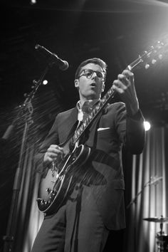 Magnum PhotosGuy Le Querrec SWITZERLAND. Montreux Jazz Festival. 2012. The Californian musician Nick Waterhouse during his concert at the Montreux Jazz Festival on July, 10th