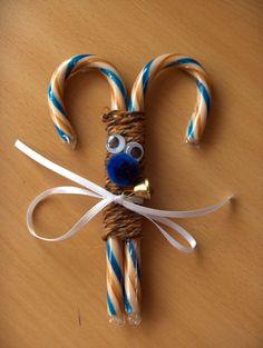 Candy cane reindeer from CreativeCynchronicity.com