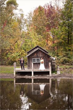 Fall Wedding Ideas By Hetler Photography ~Love the fall theme, plus it's outdoors~