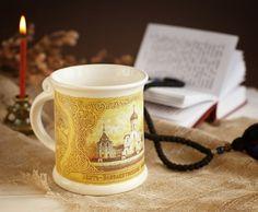 $18.00 Gift Mug http://catalog.obitel-minsk.com/km-107-31-85-chashka-podarochnaja.html#!prettyPhoto #Pottery #ceramics #cup #plate #teaset #decor #christmas #gift #handmade #handcrafted #crafts #forsale #order #wordwide #glaze #mugs #deliver