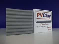 PVClay Decor - 56 Gramas-Prata Metalizado-76