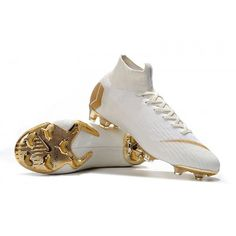 4c789d350 Nike Mercurial Superfly VI 360 Elite FG Mens Football Boots - White/Gold  visit us