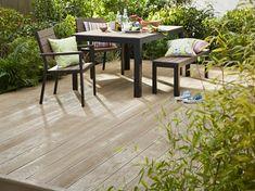 Millboard Weathered Oak Decking - (Colour Option) - QTD Ltd - Composite Range. Deck Alternatives, Construction Waste, Timber Deck, Outdoor Spaces, Outdoor Decor, Composite Decking, Weathered Oak, Real Wood, Backyard Landscaping