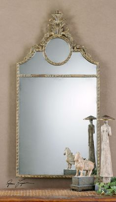 Uttermost Peggy Arched Mirror. 26x50 NFM $289