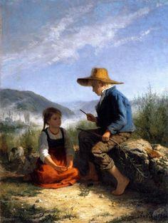 Albert Anker (Swiss, 1831-1910)