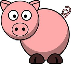 cartoon clipart free pig cartoon clipart piggie bank pinterest rh pinterest com free clipart pig face free pig clipart black white