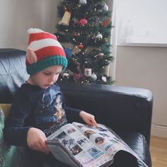 A tiny elf has snuck in and stolen my festive TV guide!