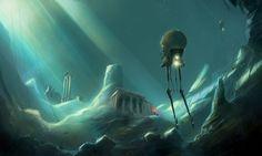 'Atlantis discovered' by ~sketchboook
