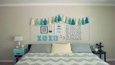 como decorar tu cuarto azul